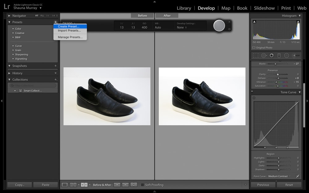 How to Use Adobe Lightroom for Product Photography