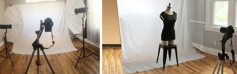 Diy 3 Easy Product Image Backdrop Ideas